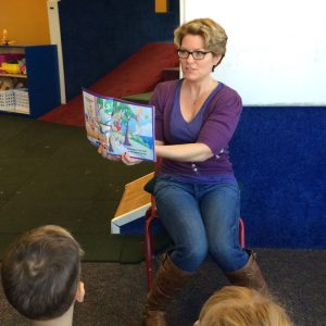 Author Visit, KidsPark 12/19/13